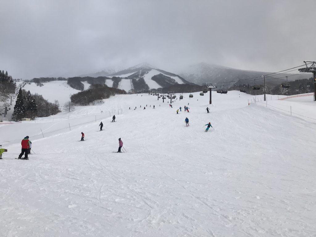 たざわ湖スキー場、賑わっていました