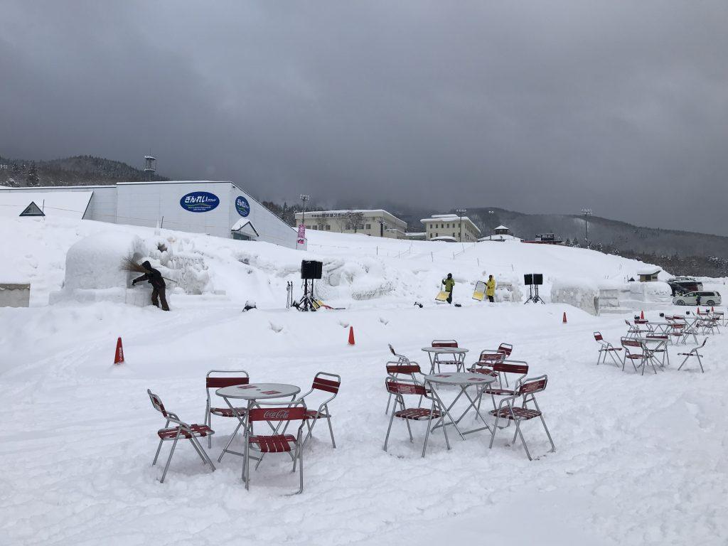 田沢湖高原雪まつり 今日~明日開催です