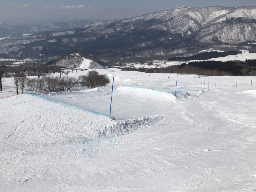 ミニクロスコース@たざわ湖スキー場