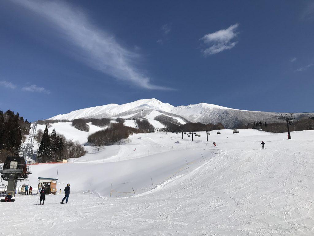 快晴@たざわ湖スキー場