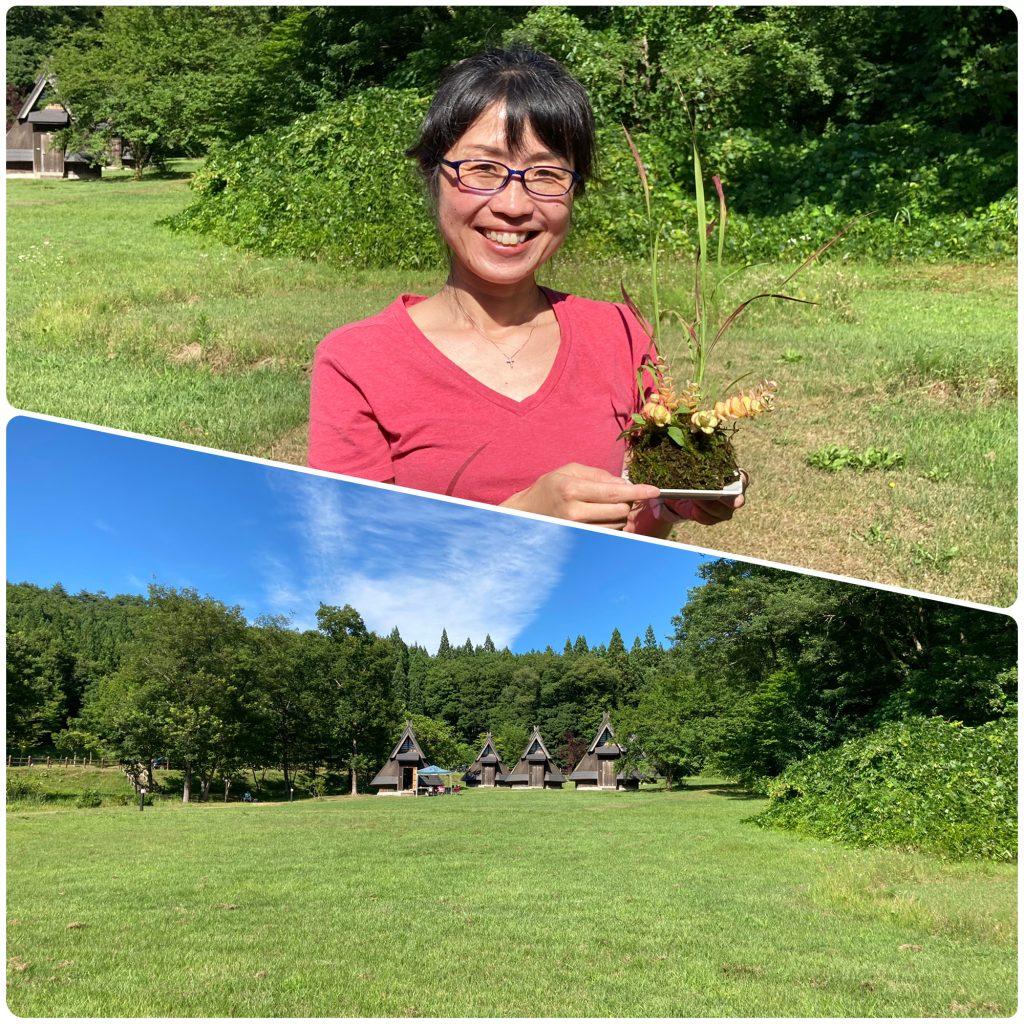 季節の山野草の寄せ植え体験